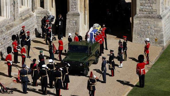 Prince Philip funeral: Service begins for the Duke of Edinburgh inside St. George's Chapel