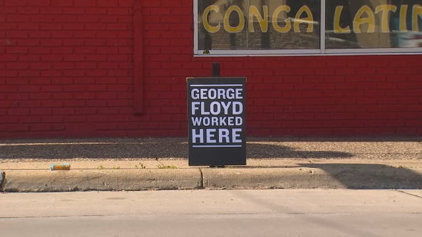 'George Floyd worked here': Signs honor lives killed by police
