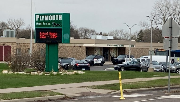 Plymouth Middle School lockdown