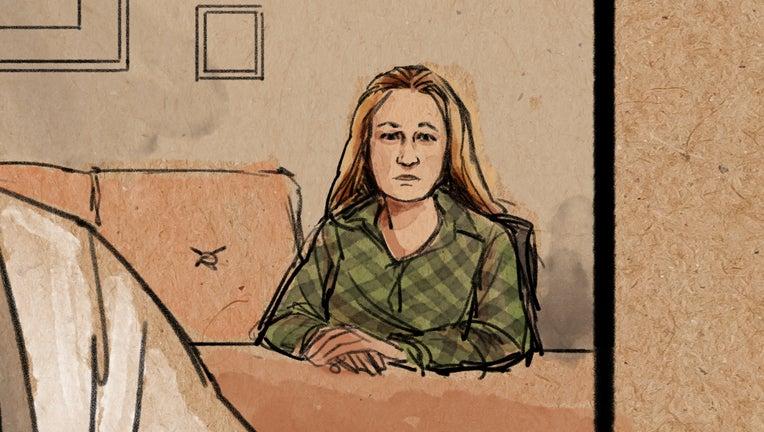 Kim Potter courtroom sketch