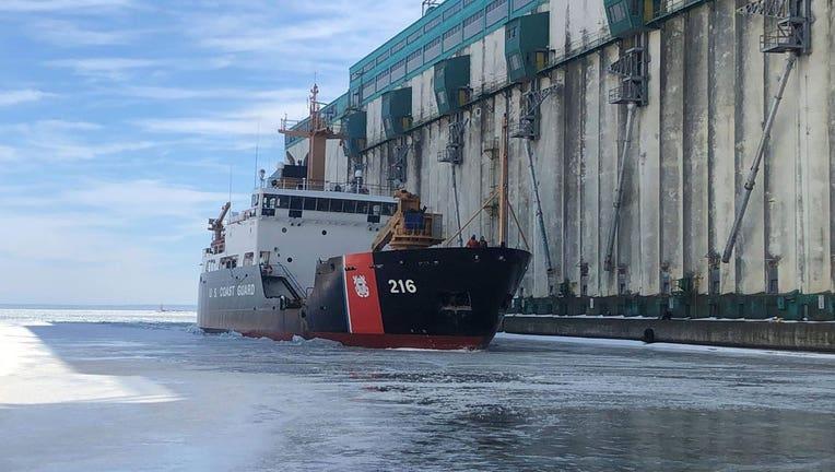 U.S. Coast Guard ALDER Cutter