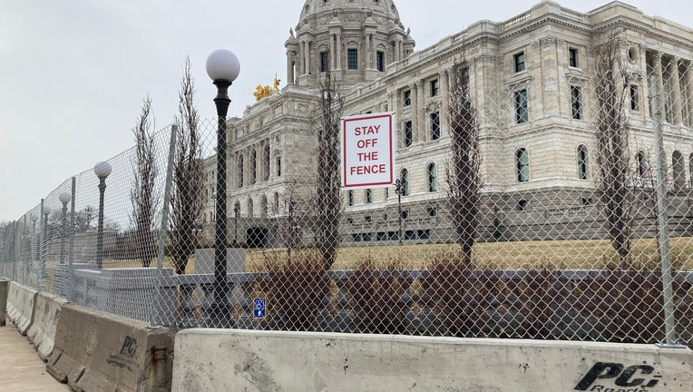 capitol fence
