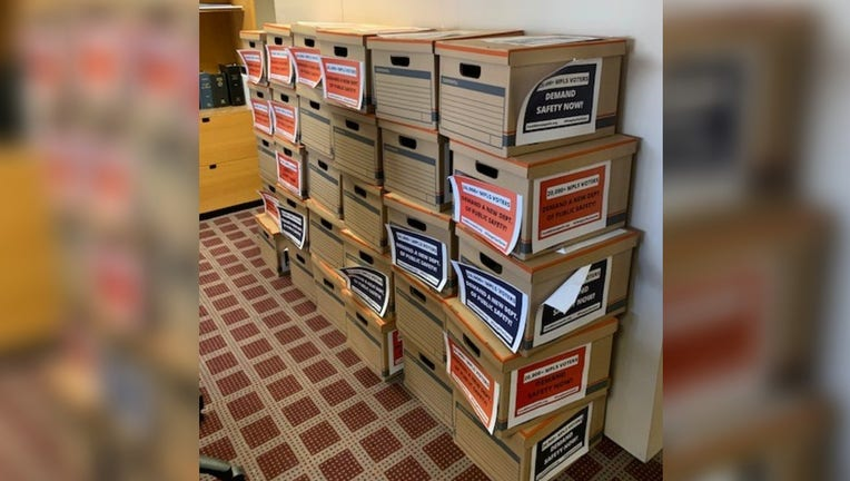 petition boxes