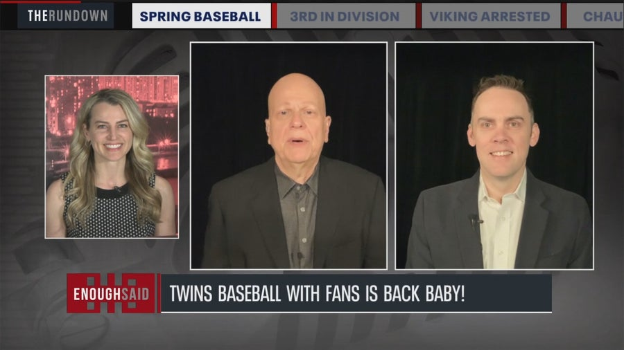 Enough Said: Fans return for Twins homeopener, Wild take down Avalanche, Chauvin trial continues