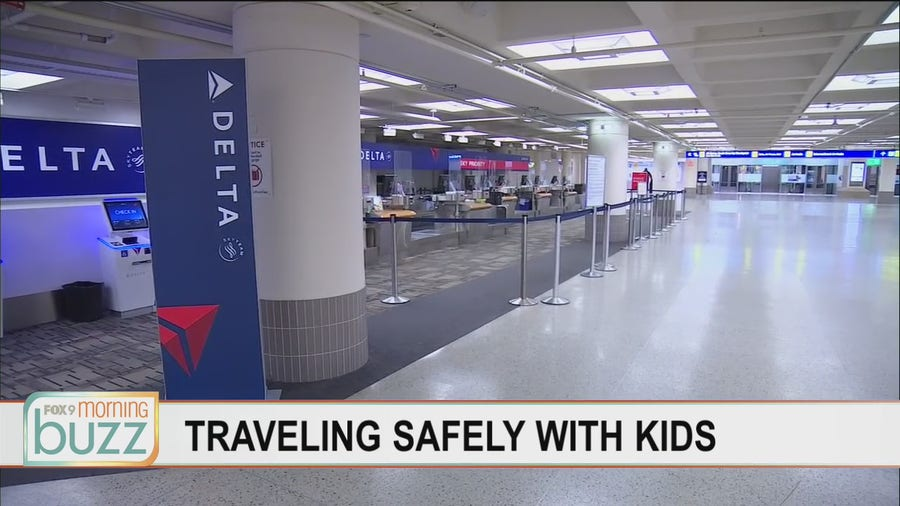 How to get kids ready to travel safely this spring
