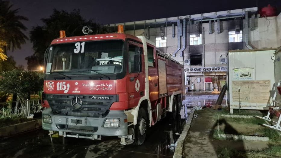 Iraq: Nearly 20 killed in Baghdad hospital fire