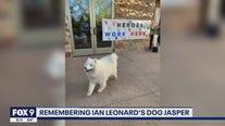 Meteorologist Ian Leonard says goodbye to his beloved dog Jasper