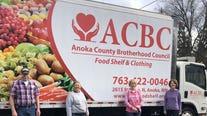 Catalytic converter stolen from Anoka food shelf delivery truck