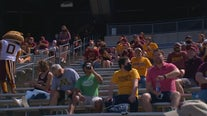 10,000 fans return to TCF Bank Stadium for Gophers' spring football game