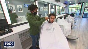 Barber to the sports stars opens new shop
