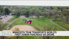 Minnesota team transports first human pancreas by drone