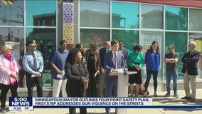 Minneapolis mayor announces 4-point plan for community safety