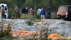 Hundreds of bodies found buried along Indian riverbanks believed to be COVID-19 victims