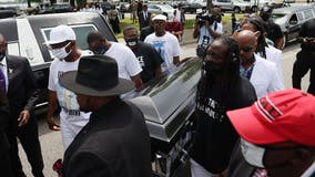 Andrew Brown Jr.: Mourners gather for funeral of Black man killed by NC deputies