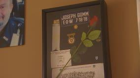 Corrections officer Joseph Gomm's family impatiently awaits settlement