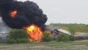 Fiery train derailment prompts evacuation of small Iowa town