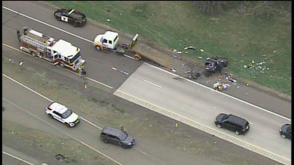 1 dead, 2 seriously hurt in Hinckley, Minn. crash