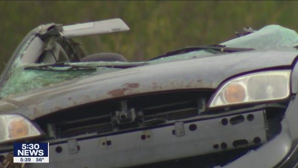 1 adult, 2 children killed in Maple Grove crash