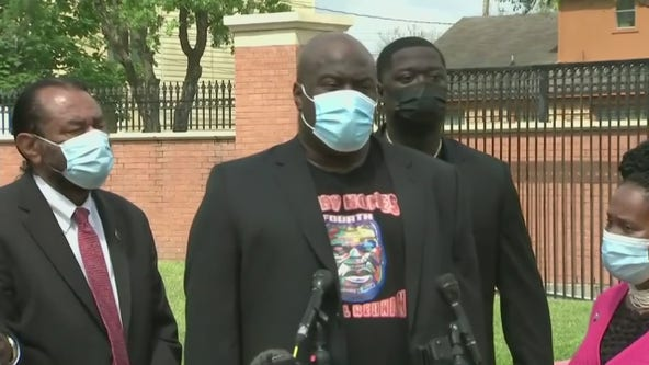 Floyd family speaks after civil rights indictment filed in George Floyd's death