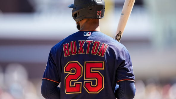 Twins put Buxton on 10-day IL with hip strain