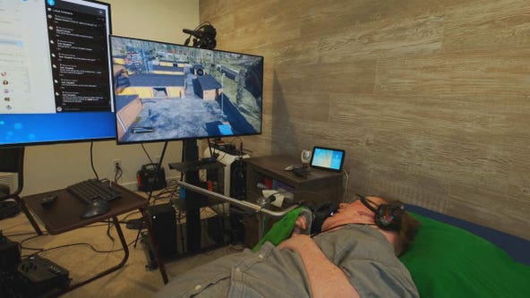 Quadriplegic pro video gamer paving the way for accessibility in gaming