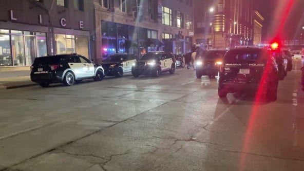 3 wounded, including officer, after fight in downtown Minneapolis