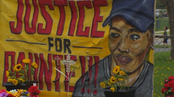 Family of Daunte Wright hosts march in Brooklyn Center 3 weeks after police shooting