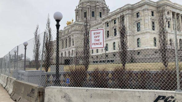 Fence surrounding Minnesota State Capitol to come down on June 1