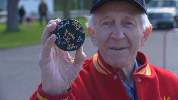 Family hosts street hockey match to honor 83-year-old man who survived COVID-19