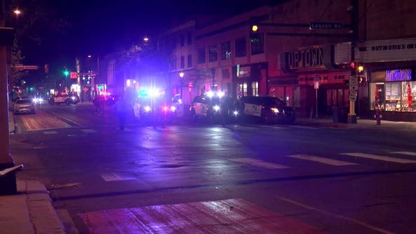 Street racers gather in Uptown Minneapolis, throw rocks at police