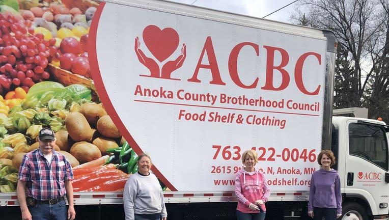 ACBC food shelf truck
