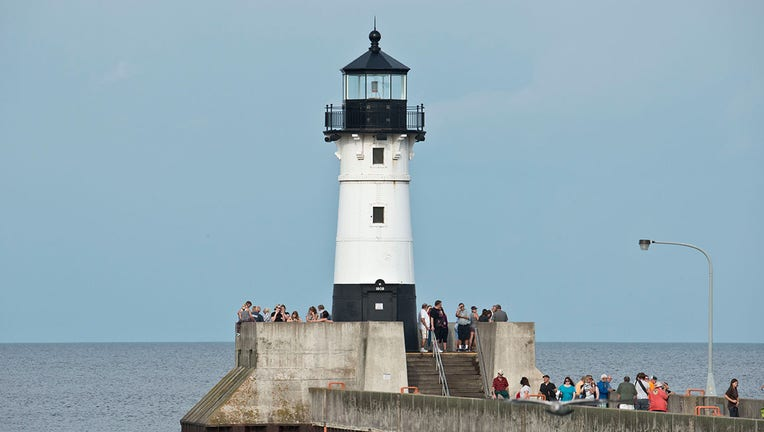Duluth Harbor North Pier lighthouse Getty