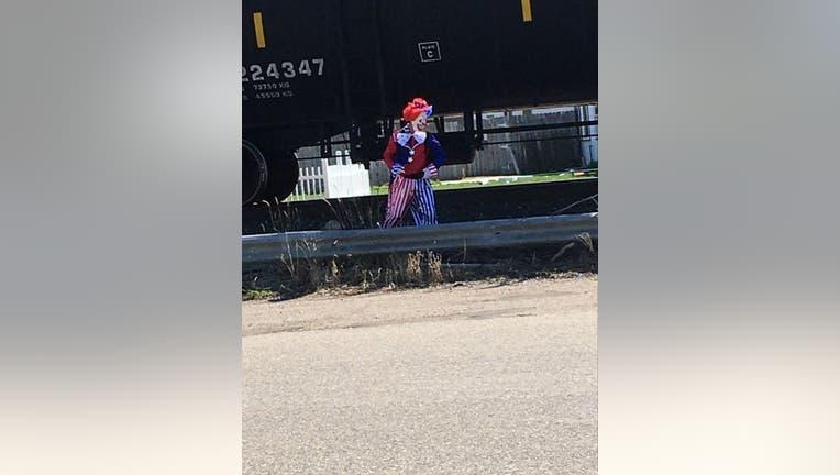 clown seen
