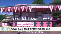 Town Ball Tour: Shayne Wells tries milkshakes at The Peppermint Twist drive-in in Delano