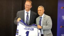 St. Thomas introduces Joel Johnson as first Division I women's hockey coach