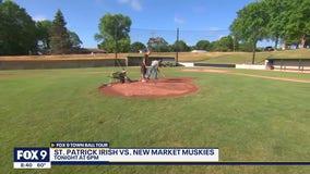 Town Ball Tour: St. Patrick Irish take on New Market Muskies at Bonin Field