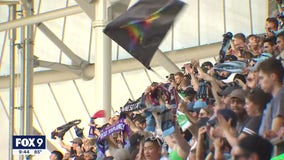 More than 19,000 fans flood Allianz Field for return to full capacity to watch the Loons win