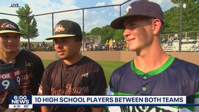 High school connections between rival Town Ball Sartell teams