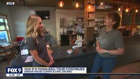 Town Ball Tour: Checking out Bridge House Coffee and Café in Delano