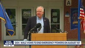 Debate over Walz's COVID powers adds last-minute twist to budget talks