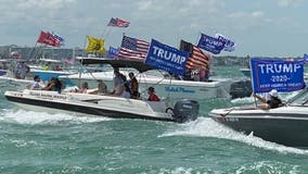 Trump supporters hold Memorial Day boat parade in Florida