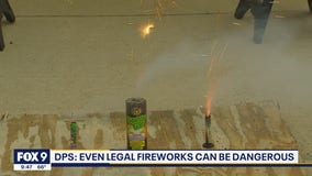 Even legal fireworks can be dangerous, authorities say