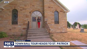 Town Ball Tour: Priest key to bringing town ball to St. Patrick