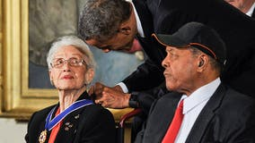 Middle school drops Confederate soldier's name to take NASA's Katherine Johnson's