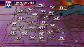 Twin Cities break temperature record on Friday and could break more records this weekend