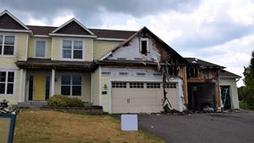 Improperly disposed of fireworks cause house fire in Forest Lake