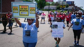 Mothers march in St. Paul Sunday demanding end to gun violence