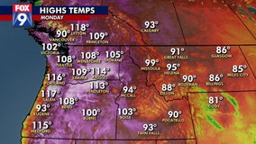 All-time record heat observed in the Pacific Northwest, Canada