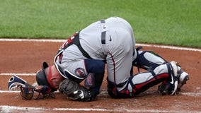 Twins catcher Mitch Garver has surgery after taking foul tip off groin