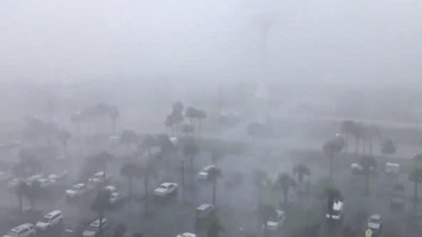 Claudette moves through coastal states with life-threatening flash flooding
